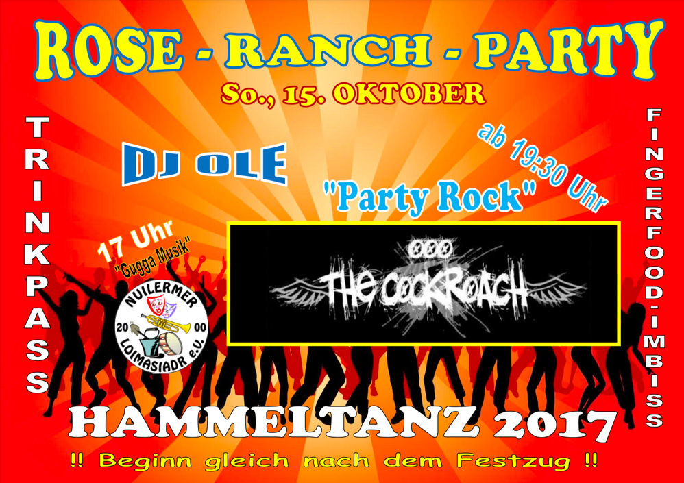 Rose Ranch Party